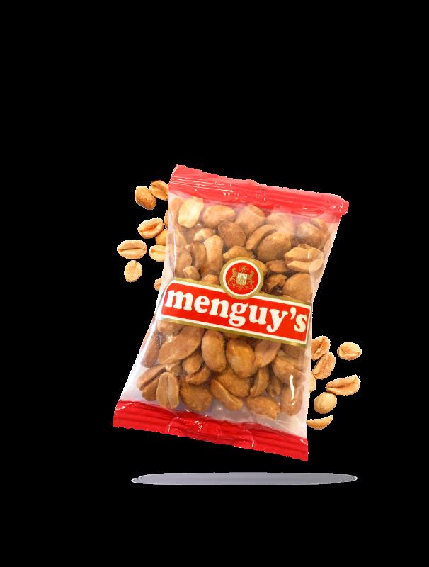 Cacahuètes grillées à sec Menguy's 40g