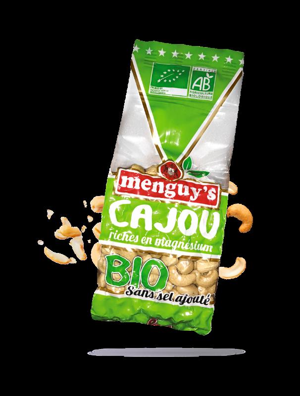 Noix de cajou Bio Menguy's
