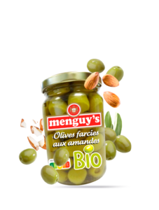 Produit Olives farcies aux amandes BIO