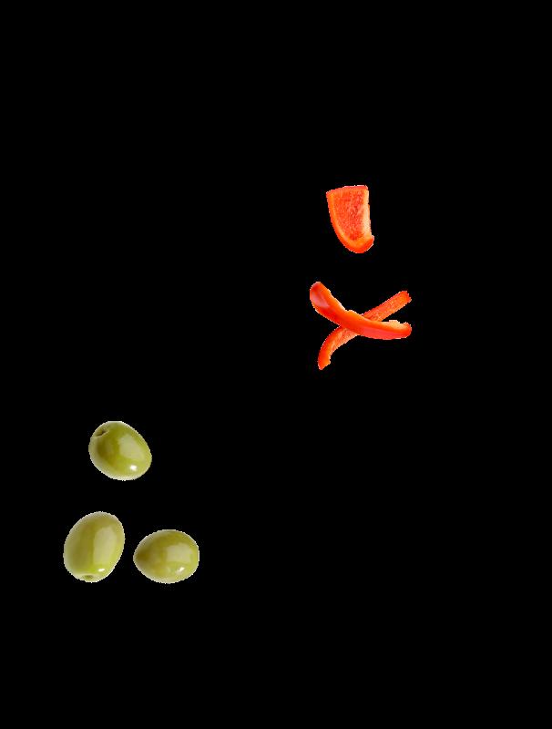 Olives farcies aux poivrons Bio Menguy's