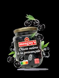 Produit Olives noires à la provençale