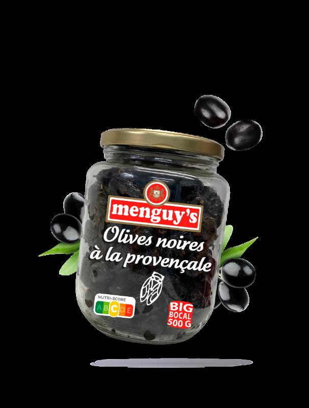 Olives noires à la provençale Menguy's