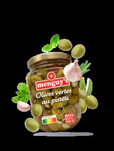 Produit Olives vertes au pistou