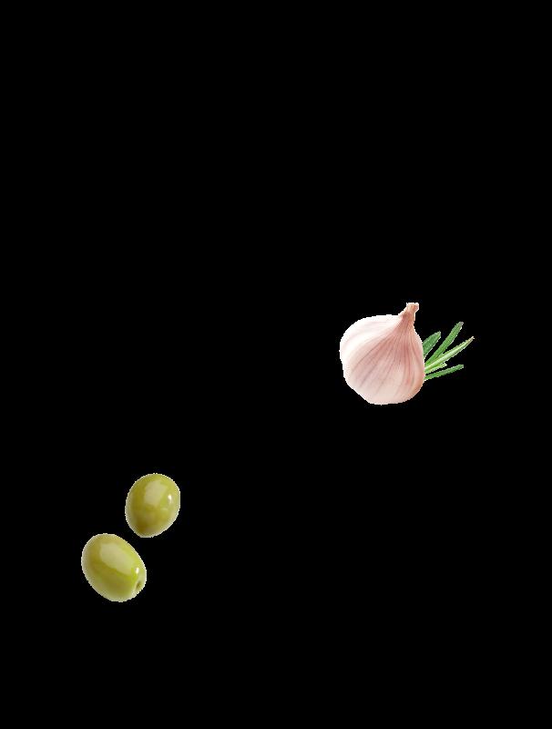 Olives vertes au pistou Menguy's