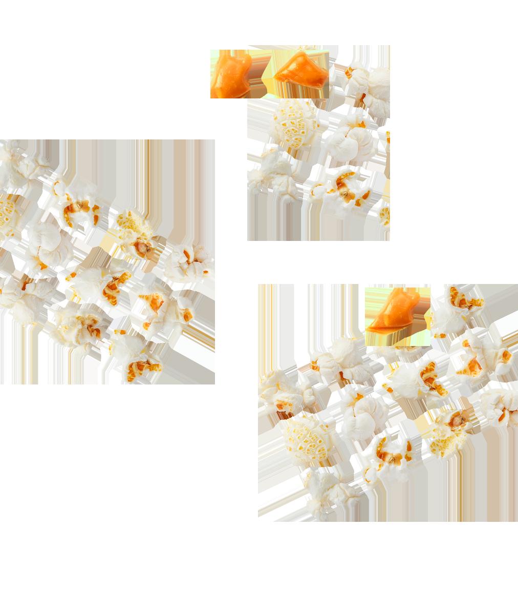 Popcorn caramel Menguy's