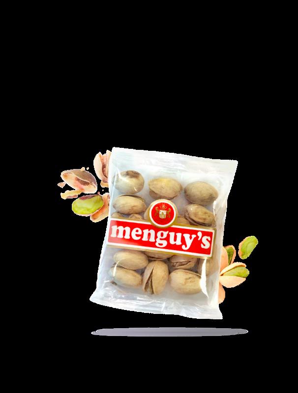 Pistaches grillées à sec 25g Menguy's