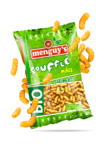 Produit Soufflé Mais Cacahuètes BIO