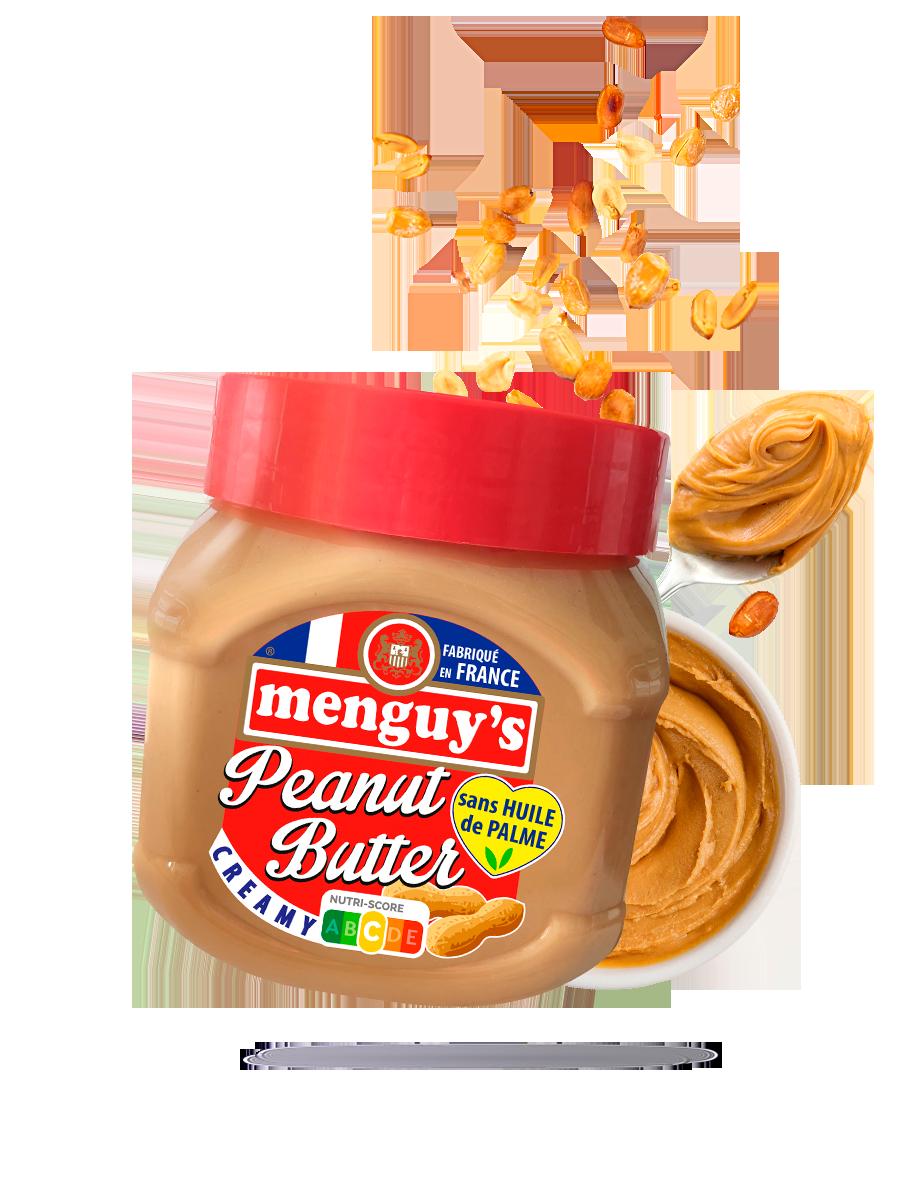 Peanut butter creamy Menguy's