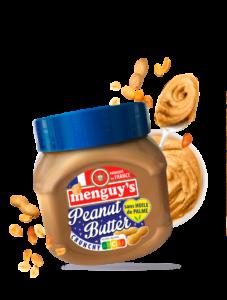 Produit Beurre de cacahuètes crunchy