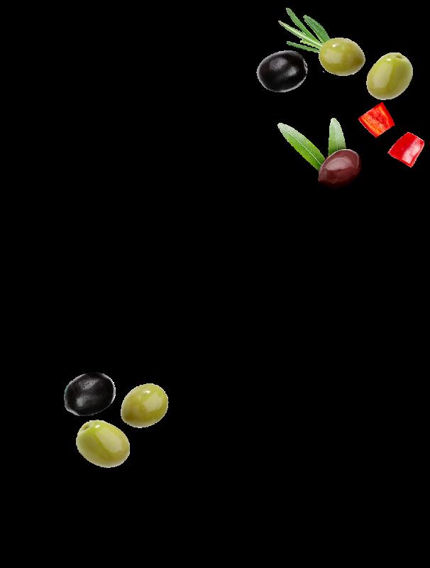 Cocktail d'olives au pistou Menguy's