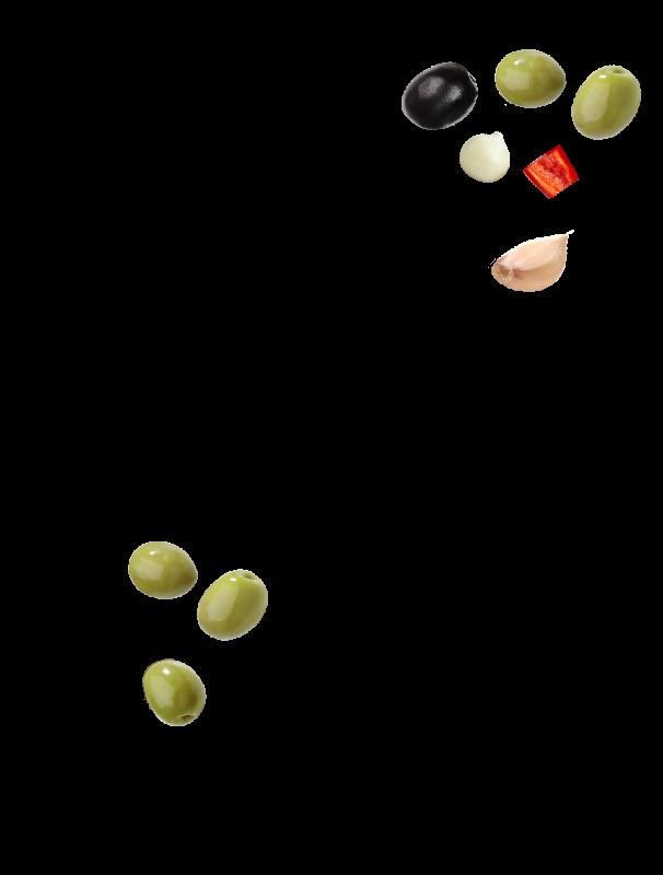 Mix brasserie olives dénoyautées Menguy's