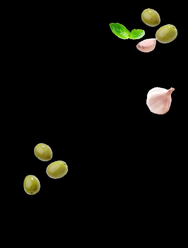 Olives à l'ail et basilic Menguy's