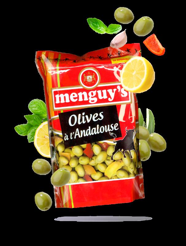 Produit Olives à l'andalouse