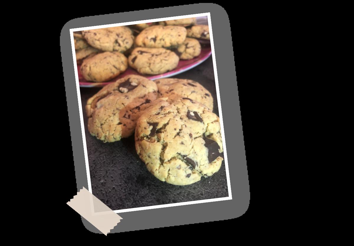 Recette cookies peanut butter Menguy's