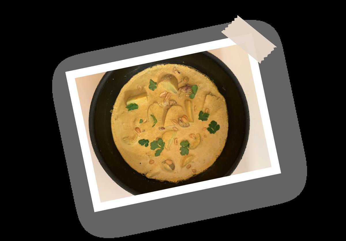 Recette curry massaman Menguy's