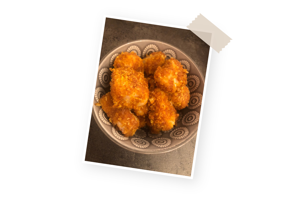 Recette nuggets poisson Menguy's